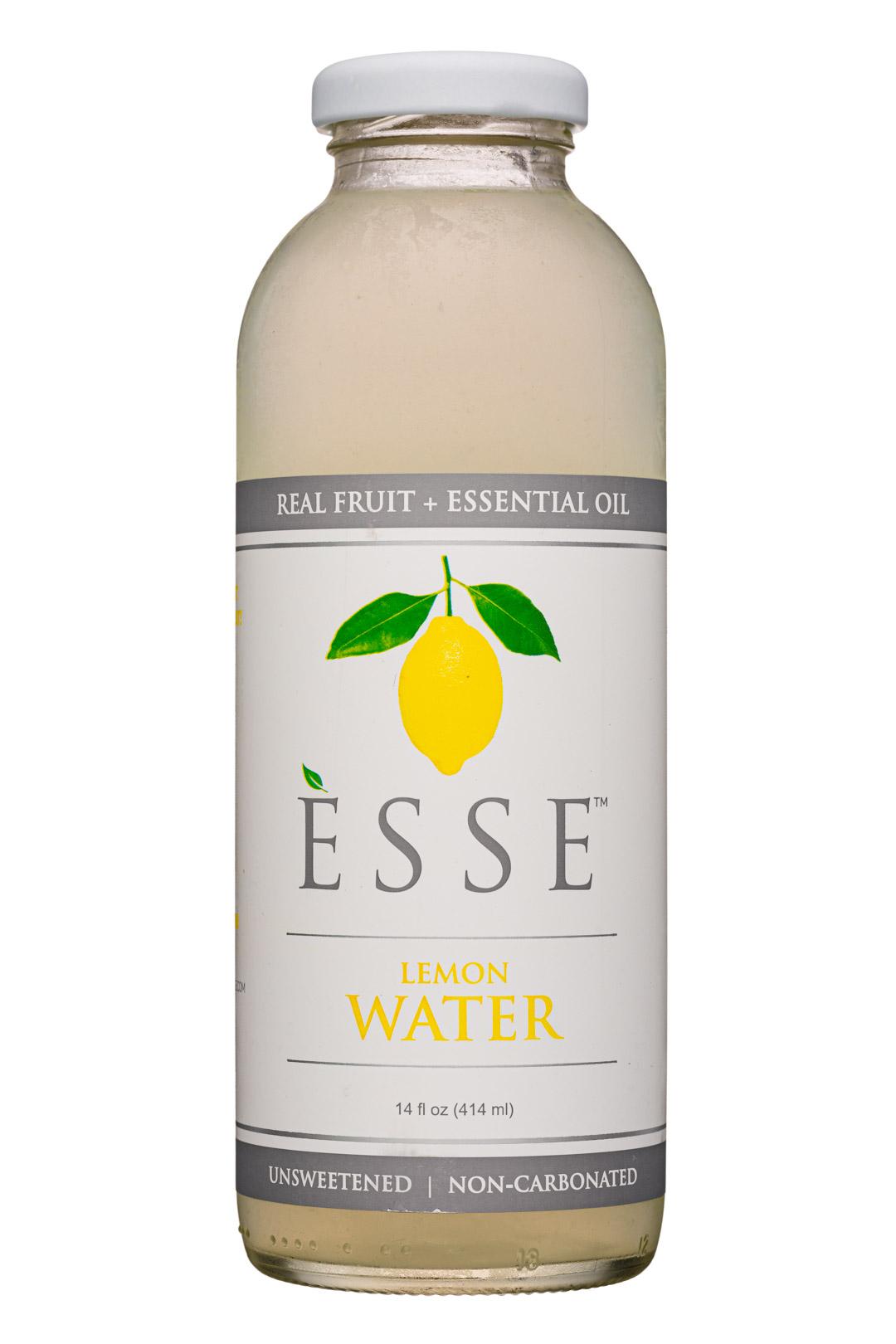 Esse: Esse-14oz-FruitOilWater-Lemon-Front
