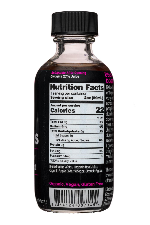 Ethan's Apple Cider Vinegar Shots: Ethans-2oz-ACVShot-Beet-Facts