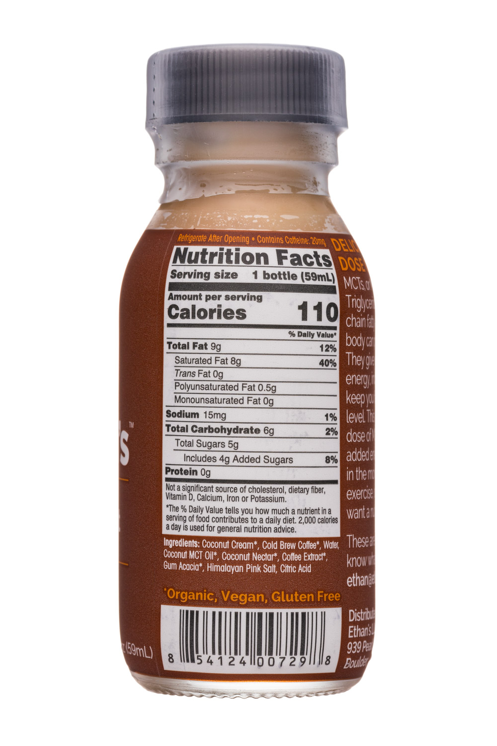 Ethan's MCT Shot: Ethans-2oz-MCTShot-Coffee-Facts