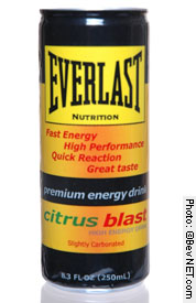 Citrus Blast High Energy Drink