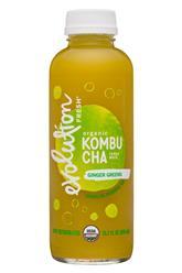 Organic Kombucha - Ginger Greens