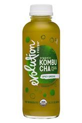 Spicy Greens Kombucha