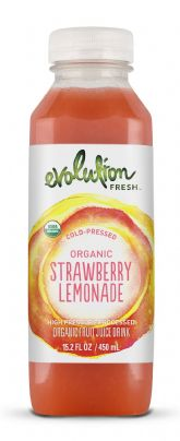 Organic Strawberry Lemonade