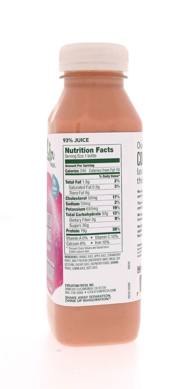 Evolution Fresh: EvolutionFresh ProteinBerry Facts