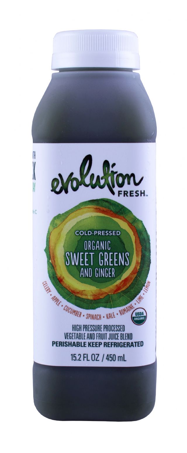 Evolution Fresh: Evolution SweetGreensGinger Front