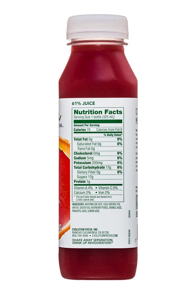 Evolution Fresh: EvolutionFresh-11oz-Cooler-RaspberryCitrus-Facts