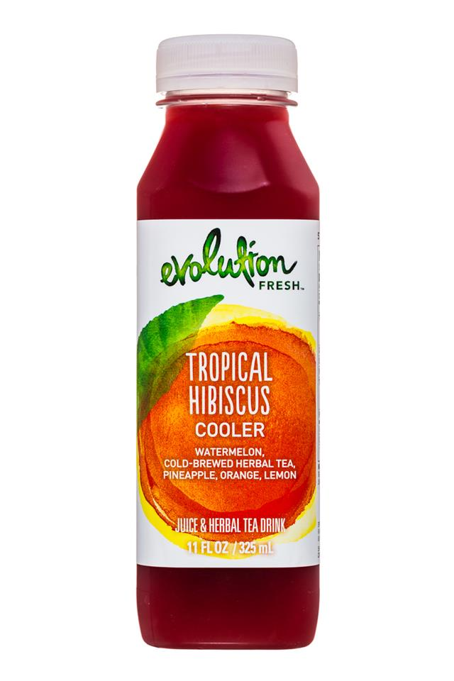 Evolution Fresh: EvolutionFresh-11oz-Cooler-TropicalHibiscus-Front