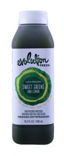 Evolution Fresh: Evolution SweetGreensLemon Front