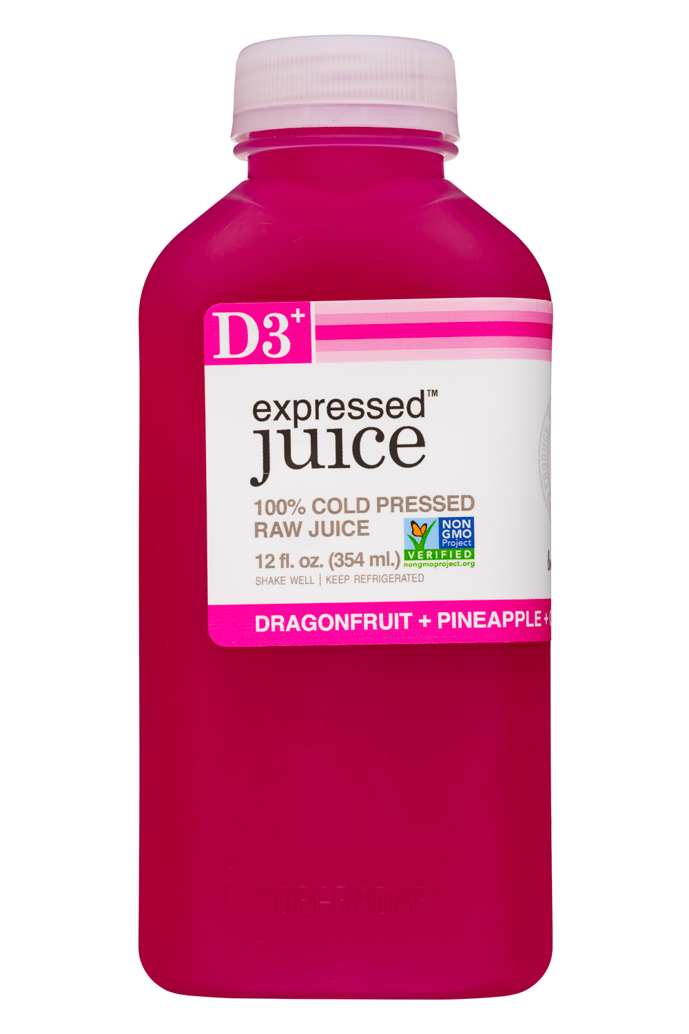 D3 - Dragonfruit + Pineapple + Coconut Water + Lime