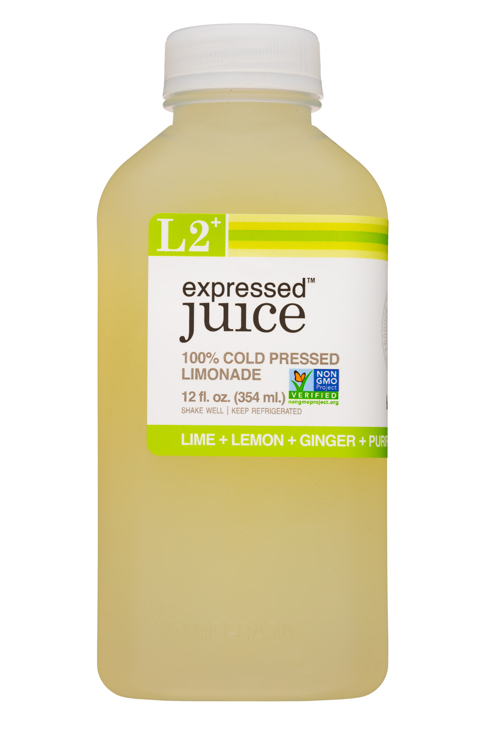 L2 - Lime + Lemon + Ginger + Purified Water + Cane Sugar