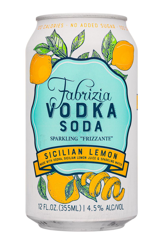 Sicilian Lemon Vodka Soda 2021