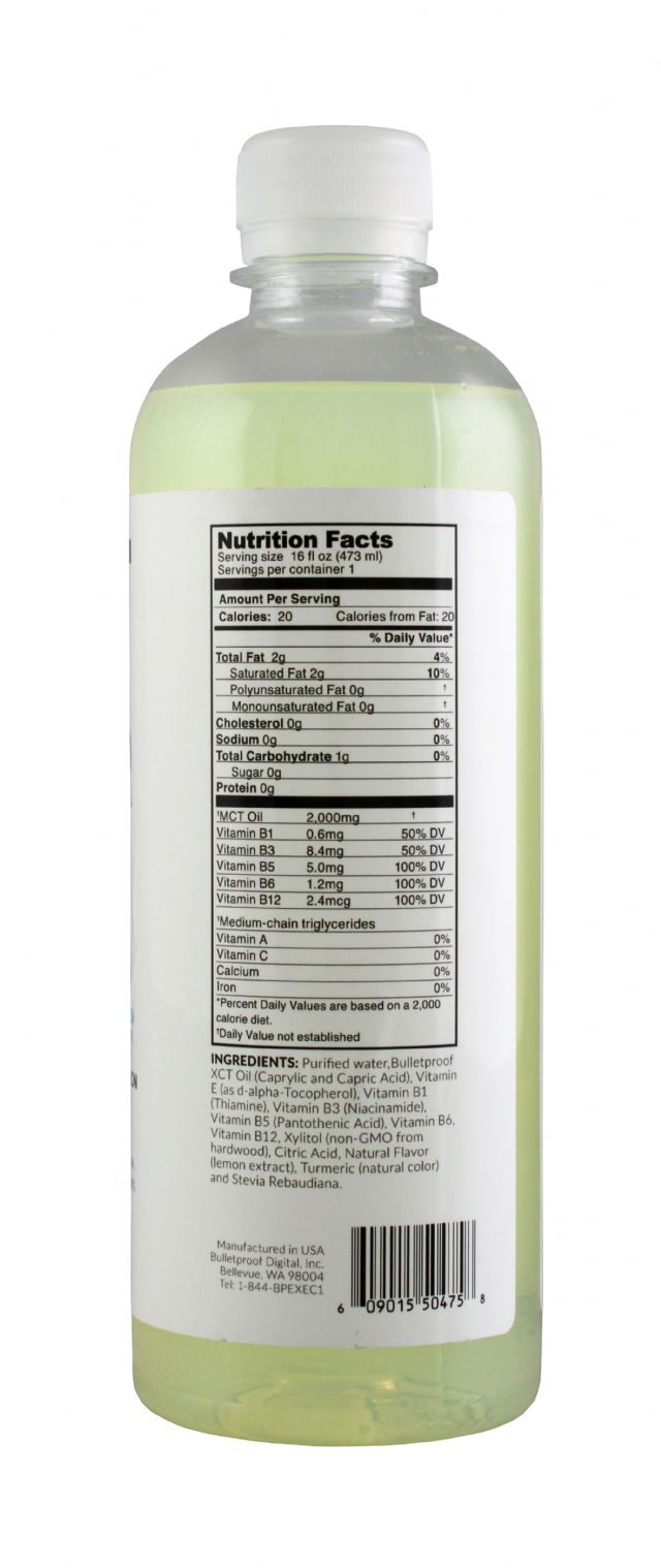 FATwater: FatWater Lemon Facts