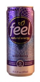 Feel Natural Energy: Feel WildBerry Front