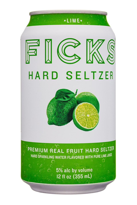 Ficks : Ficks-12oz-HardSeltzer-Lime-Front