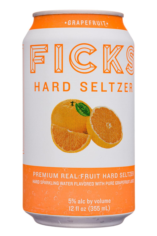 Ficks : Ficks-12oz-HardSeltzer-Grapefruit-Front