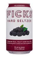 Ficks : Ficks-12oz-HardSeltzer-Blackberry-Front
