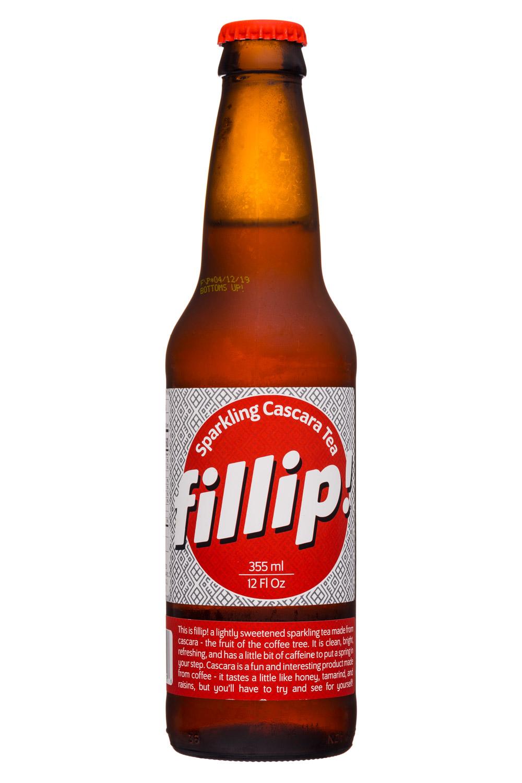 Fillip: Fillip-12oz-SparklingCascaraTea
