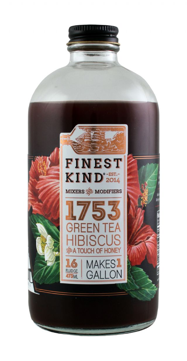 Finest Kind Tea: FinestKind GreenTeaHib Front
