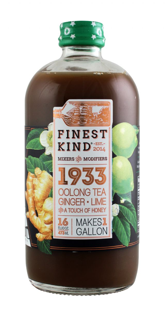 Finest Kind Tea: FinestKind OolongTeaGingerLime Front