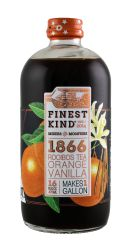 Finest Kind Tea: FinestKind RooOrangeVan Front
