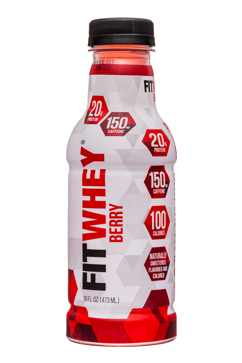 Fitwhey: FitWhey-16oz-Berry-Front