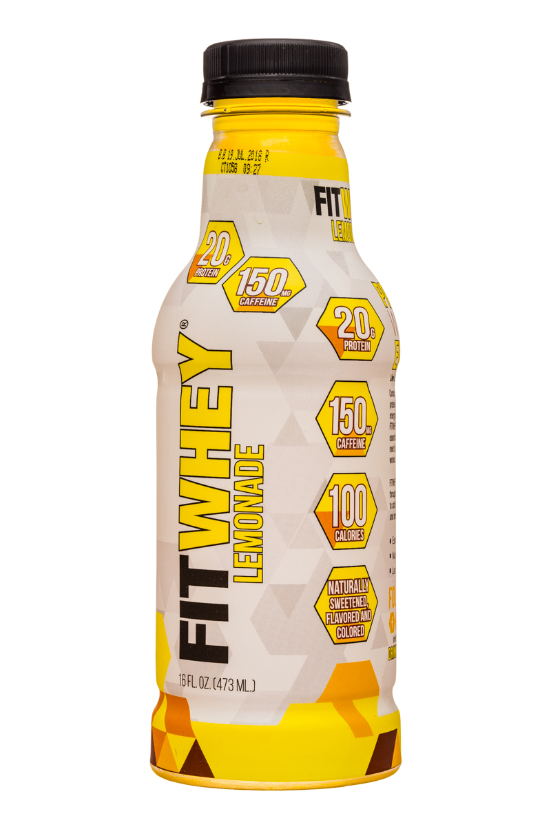 Fitwhey: FitWhey-16oz-Lemonade-Front