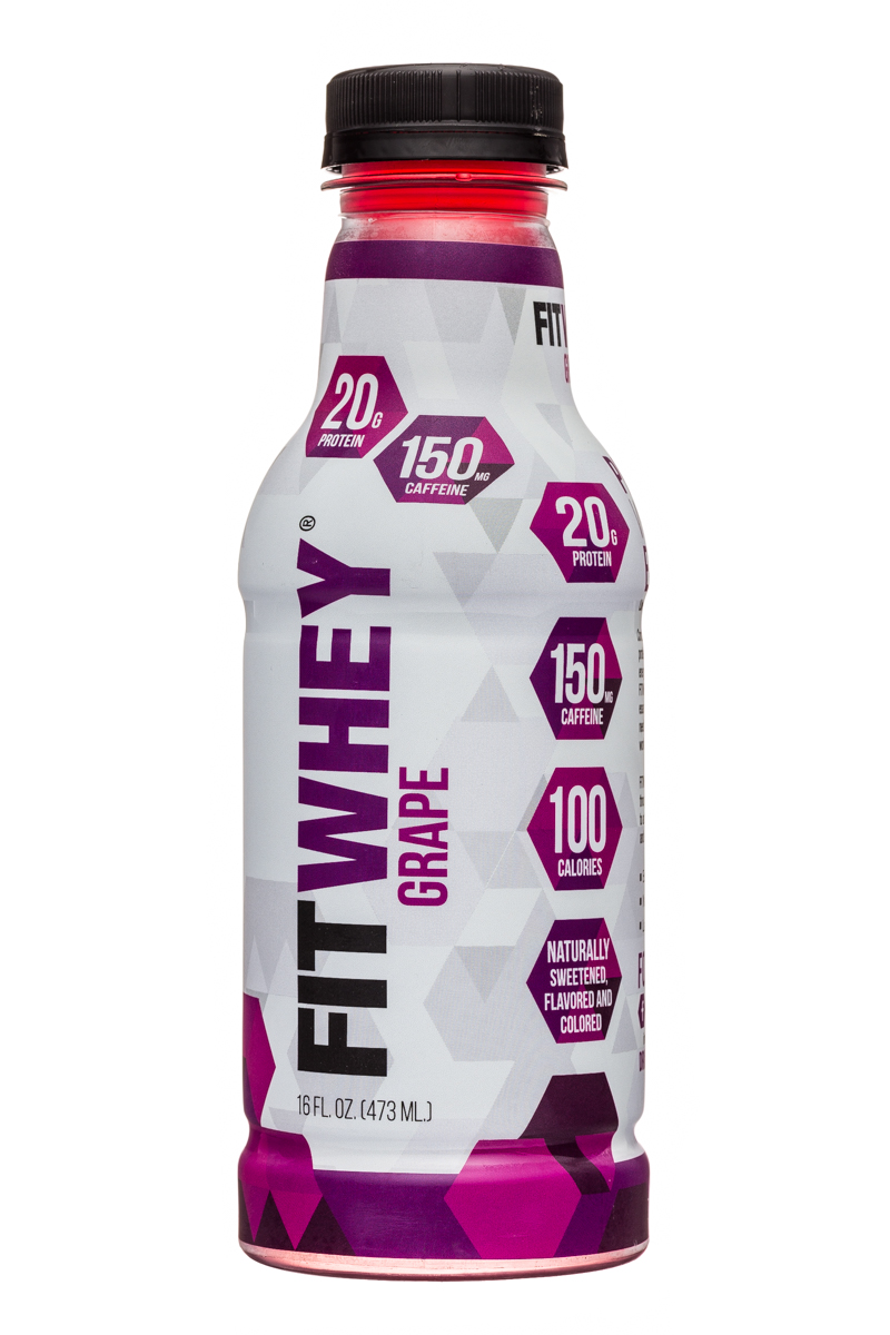 Fitwhey: FitWhey-16oz-Grape-Front