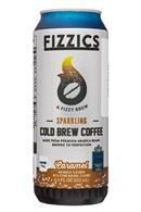 Fizzics Sparkling Cold Brew Coffee: Fizzics-8oz-SparklingColdBrew-Caramel-Front