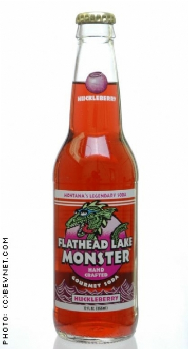 Flathead Lake Monster Gourmet Soda: flathead-huckleberry.jpg