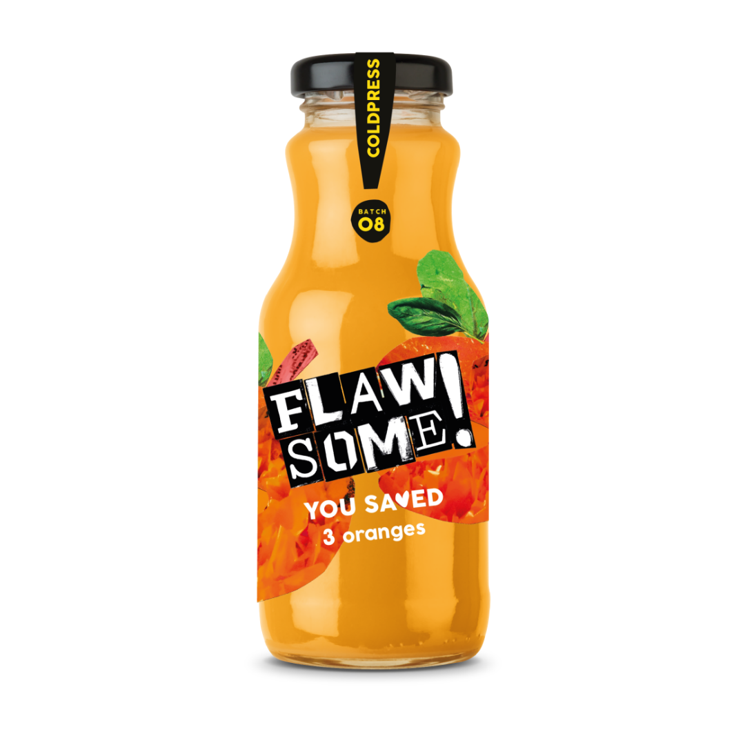Flawsome! Orange - Cold Pressed Juice