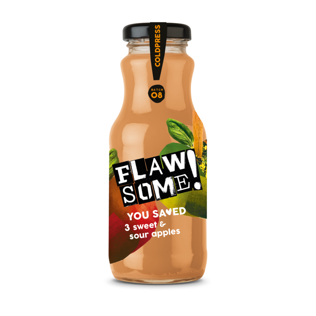 Flawsome! Sweet & Sour Apple - Cold Pressed Juice