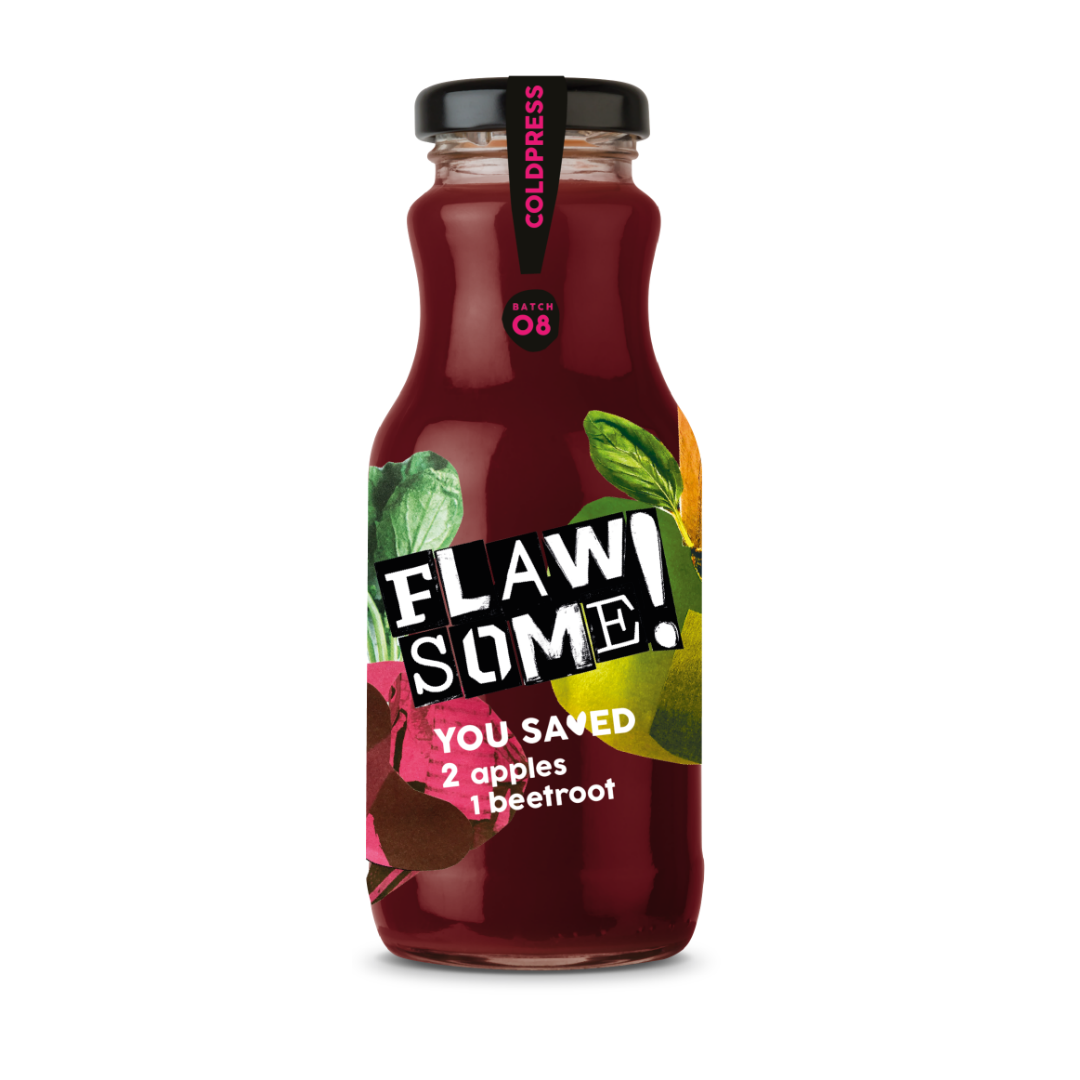 Flawsome! Apple & Beetroot - Cold Pressed Juice
