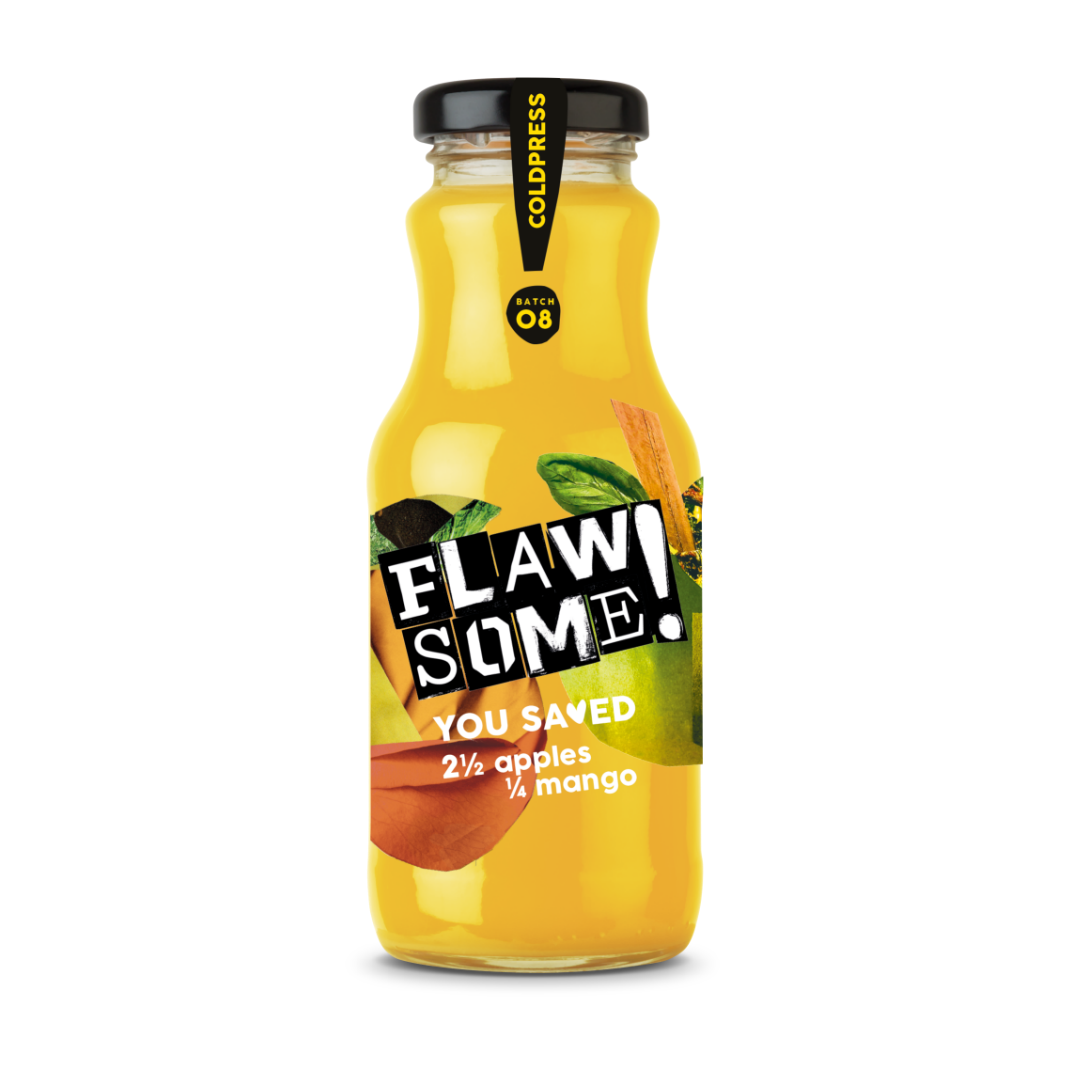 Flawsome!: Photo of Flawsome! Apple & Mango - Cold Pressed Juice - Flawsome! (uploaded by company)