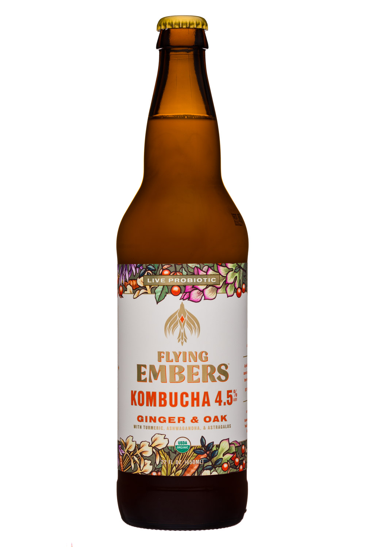Ginger & Oak - Kombucha 4.5%