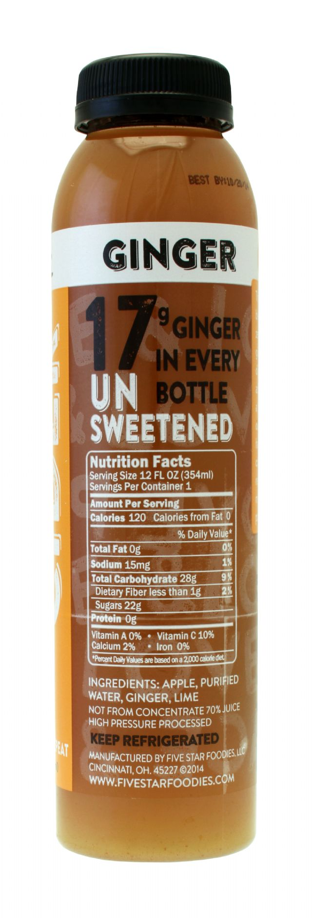 Foodies Cider: Foodies Ginger Facts