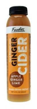 Foodies Cider: Foodies Ginger Front