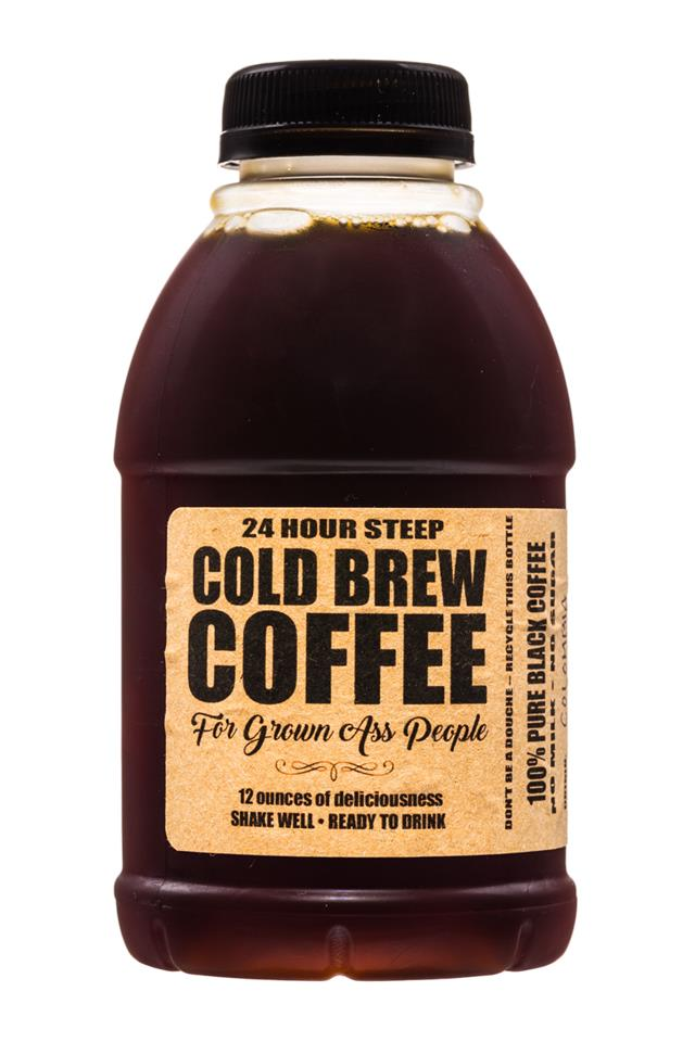 For Grown Ass People: ForGrownAssPeople-24HourSteep-ColdBrew-12oz-LasMargaritas