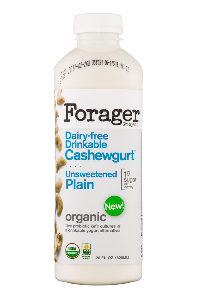 Forager Cashewgurt: ForagerProject-28oz-Cashewgurt-UnsweetPlain-Front