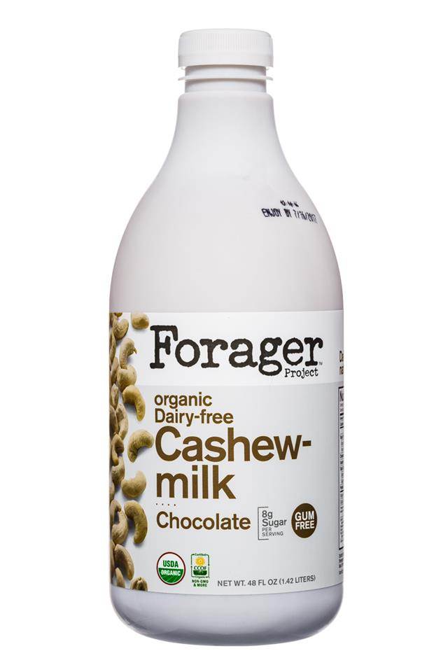 Forager Project Cashewmilk: Forager-48oz-CashewMilk-Choc-Front