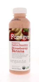 Probiotic Cashew Smoothie - Strawberry Banana