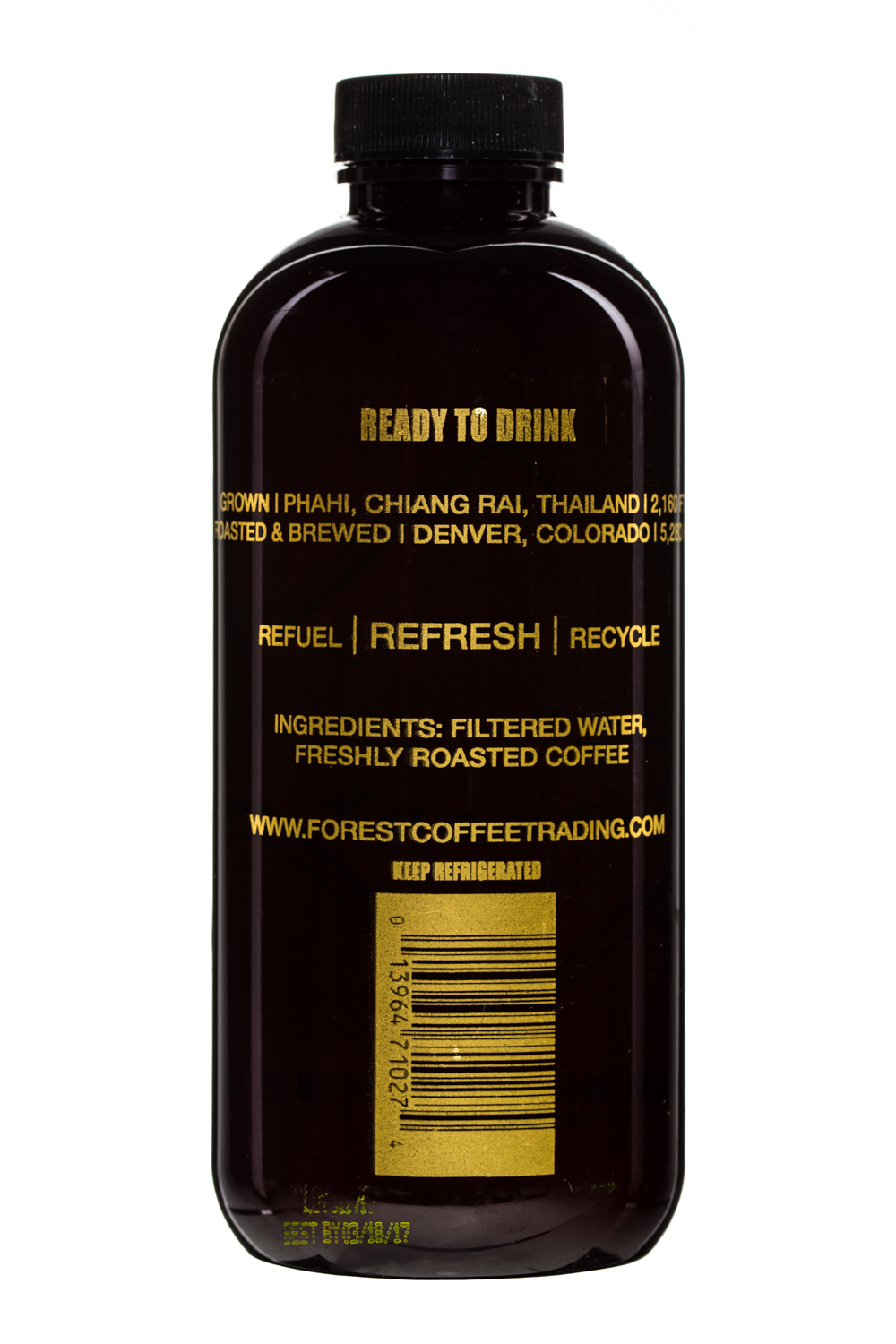 Forest Coffee Trading Co.: ForestCoffee-12oz-ColdBrew-Facts