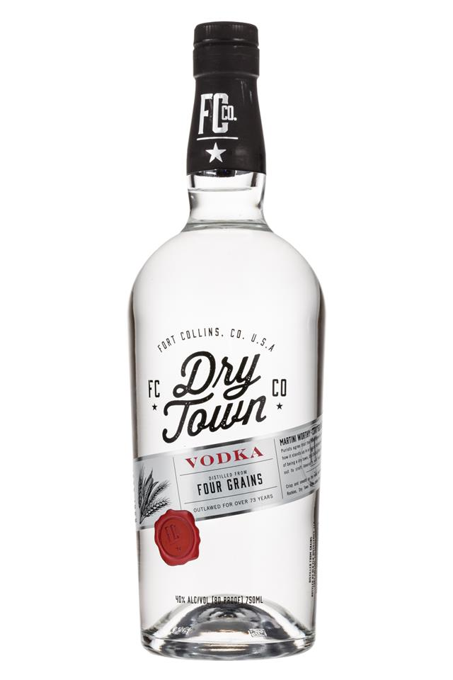Dry Town: FortCollinsCo-DryTown-Vodka