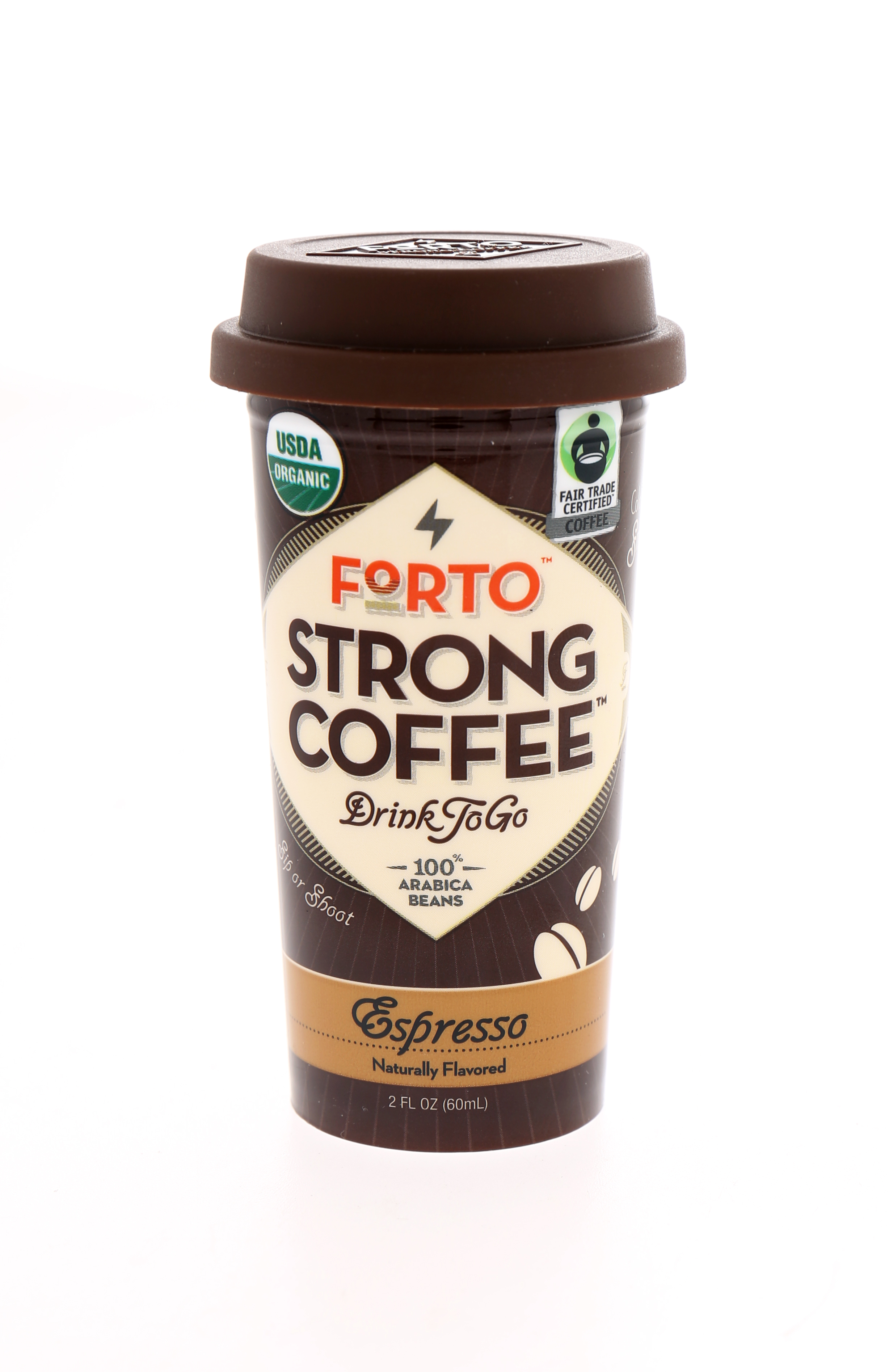 Forto Strong Coffee: Forto Espresso Front