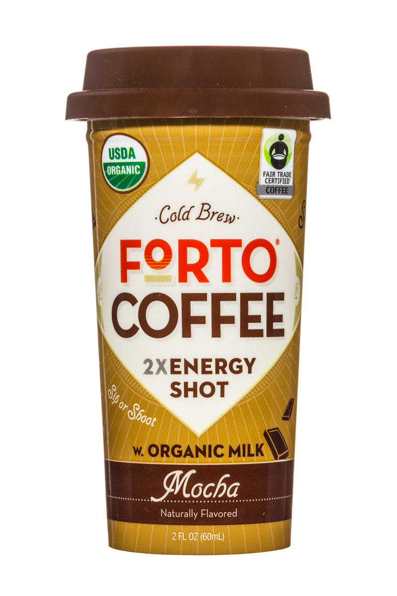 Forto Strong Coffee: Forto-ColdBrew-2oz-Shot-Mocha-Front