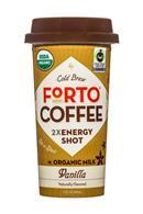 Forto Strong Coffee: Forto-ColdBrew-2oz-Shot-Vanilla-Front