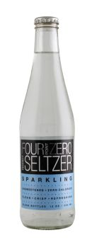 Four Point Zero Perfect Seltzer: FortPoint Spark Front