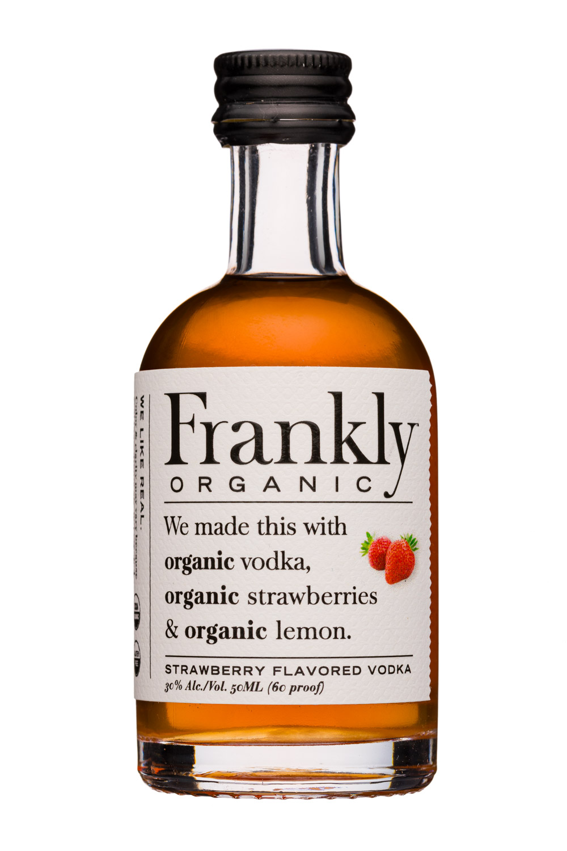 Frankly : Frankly-50ml-Vodka-StrawberriesLemon