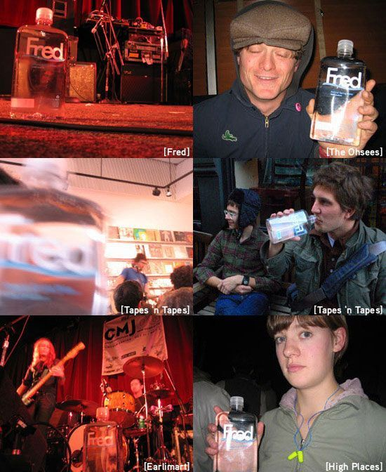 Fred: Fred and some of his favorite bands