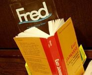 Fred: Brushing up on his Japanese
