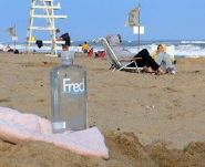 Fred: Taking it easy in the Hamptons